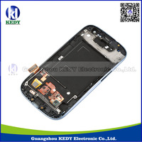 for samsung i9300 galaxy s3 lcd with digitizer , lcd screen for samsung galaxy s iii s3 sph-l710