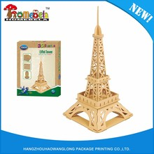 Top sale guaranteed quality 3d paper building model