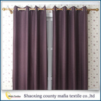 Curtain supplier 2016 new Fancy Blackout european style window curtains design for living room