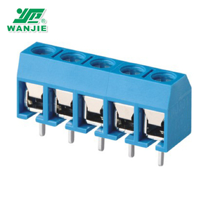 Wanjie 5.0mm pitch PCB Screw terminal block
