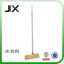 Household Cleaning Stainless Steel Pipe Wooden Broom