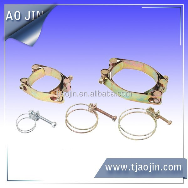 double wire screw clamps