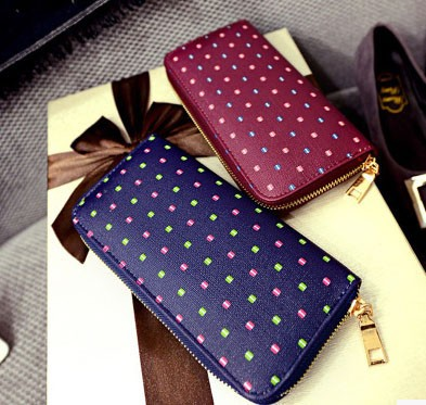 girls PU wallets and purses/Fashion trends women wallets/New model ladies purses