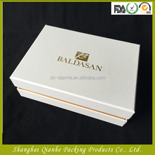 Latest factory rectangle paper box,flat pack gift box