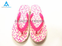 Lastest Summer Flat Ladies Print Cheap Wholesale Flip Flops