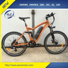 2017 36v 500w Philippines Electric Bicycle with rear motor for sale