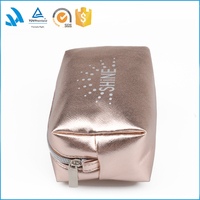 Fashion waterproof high level hot selling shining cosmetic bag wholesale