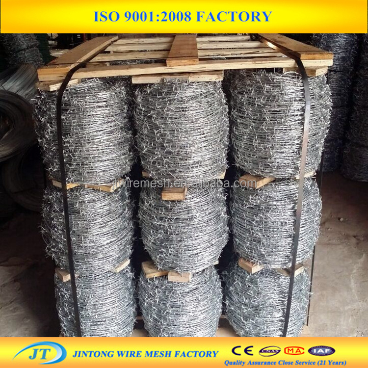 Best price weight of barbed wire per meter length