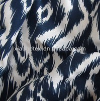 100%flower polyester printed chiffon crepe fabric