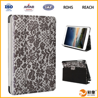 High Quality Hot Selling Flip Leather Tablet Case for iPad Mini, Leather Case for iPad Mini