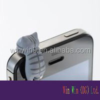 anti dust plug for cell phone charm