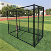 Comfortable folding metal outdoor dog fence