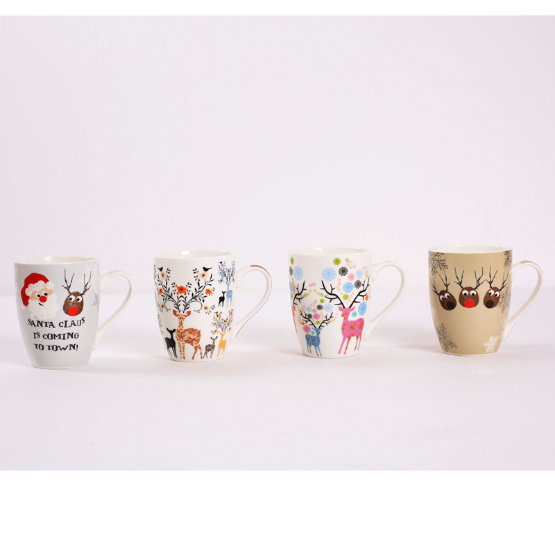 Christmas mug gifts,cheap moose mugs,snowman coffee mug