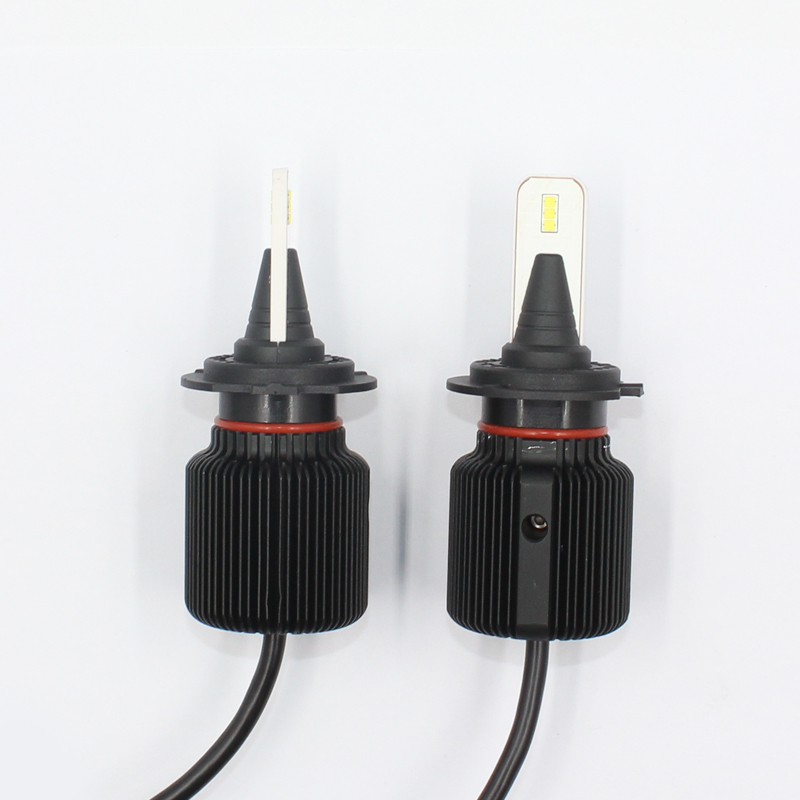 H7 car auto led lighting bulb H7 CSP chips 80W 9600lumens led h7 headlight light H7 H8 H9 H10 H11 H16 car h7 led headlight lamp