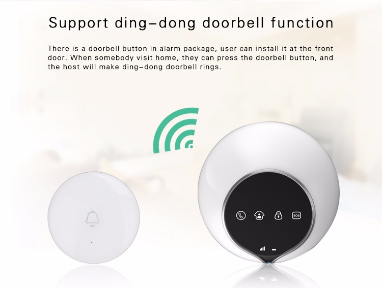 New products !Home used Usage safety 3G WCDMA wireless home intruder alert alarm system GS-S1-3G