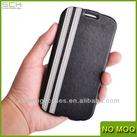 Customized Flip Leather Cover For Samsung Galaxy S4