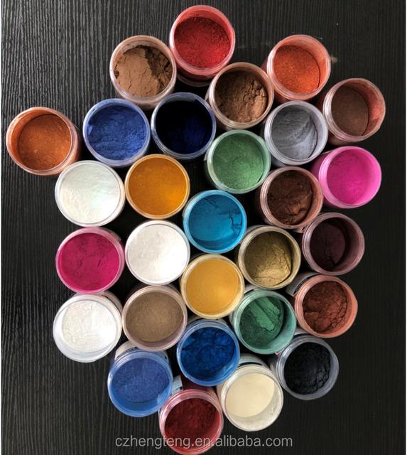 Mica Cosmetic Colorants - 3g 30 bags - Soap Makings Bath Bomb Mineral Makeup Eye Shadow Lip Balm Slime Play Dough Nail Art Resin