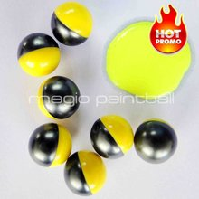 PEG Tournament 0.68 caliber Paintballs 2000 Round Yellow filling