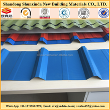 Diamond embossed corrugated galvanized zinc roof sheets/steel plate floor/corrugated coated blue steel roof sheet tile