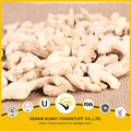Air dried ginger whole ginger flakes and sliced ginger yellow color