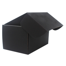Factory Bulk Wholesale Collapsible Black Cardboard Customized Size Shoe Boxes With Logo