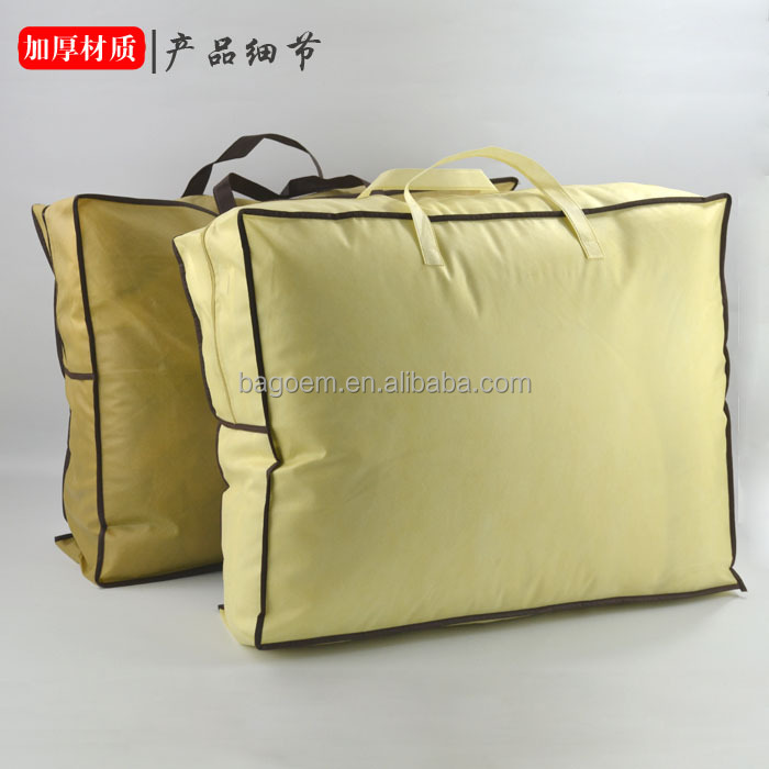 fashion reusable non-woven pvc bag for garment