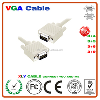 famous brand good Quality HD15 Male to HD15 Male 15pin vga to vga cable