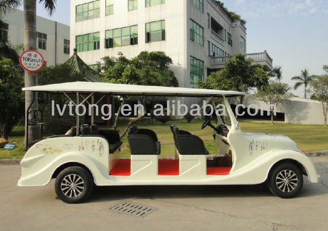 Cheap 8 seat electric battery powered utility vehicles (LT-S8.FB)