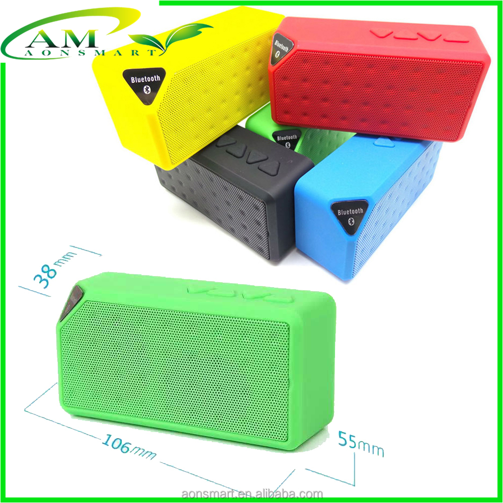 Small Size Portable Bluetooth Speakers X3