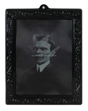 Halloween party decoration polyresin craft black horror photo frame