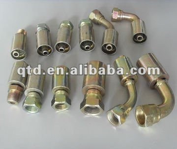 Ferrule for hose hydraulic pipe fitting assembly for SAE 100R1AT/EN 853 1SN with Low price and High quality