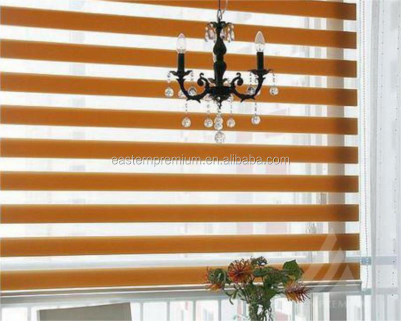 Rainbow Colored Zebra Roller Blinds, Window Treatments