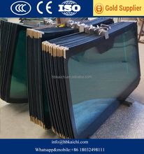 high quality laminated tempered glass for car bus with CCC CE ISO