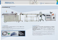 Disposable infusion tube extrusion line(ISO9001:2000,CE, 2015 new design)