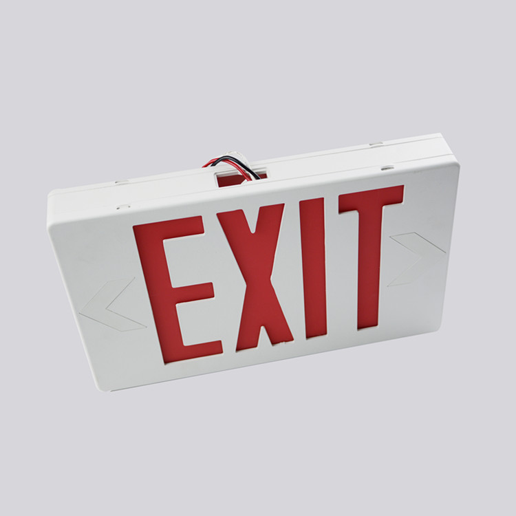 Optional Red Or Green Letters Strip Exit Sign Ul Cul Certification