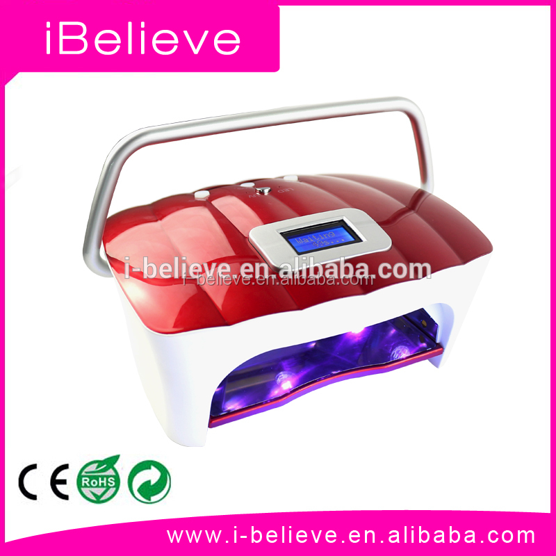 Different Cordless 54W LED UV Nail Dryer uv nail lamp 9v with Rechargeable Battery