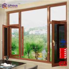 Best Price Shopping European Standard french Aluminium Casement Window With double Glazing