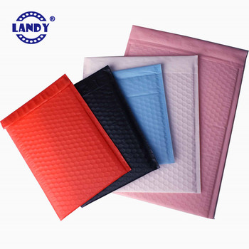 self adhesive sealing matte poly mailer bag pink poly bubble,pink polymailer