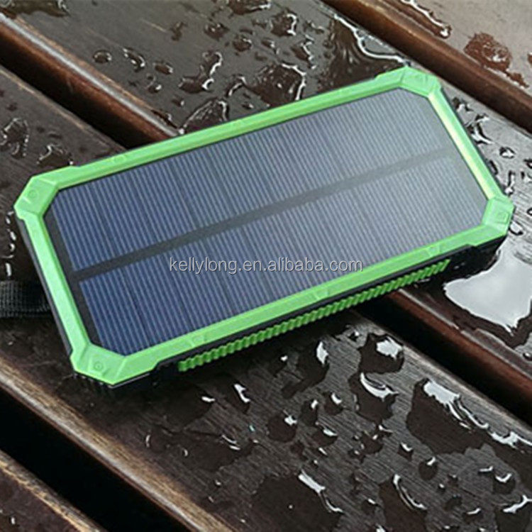Durable Built Portable Mobile Power Bank 15000 Mah Mobile Solar Charger KD-177 For Iphone 6S