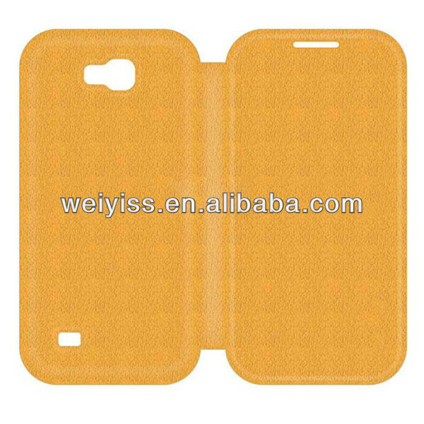 factory price leather Samsung Galaxy S4 case