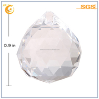 crystal clear glass ball chandelier diamond cut crystal