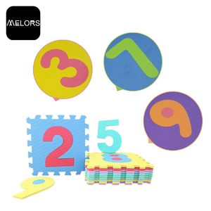 Melors Shock Absorption EVA Early Childhood Education Baby Foam Play Mats Wholesale