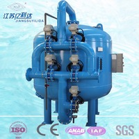sand filter tank price/Water treatment quartz sand multimedia filter tank