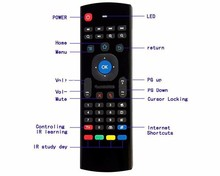 Best MX3 Air mouse with keyboard,air mouse keyboard for Smart TV