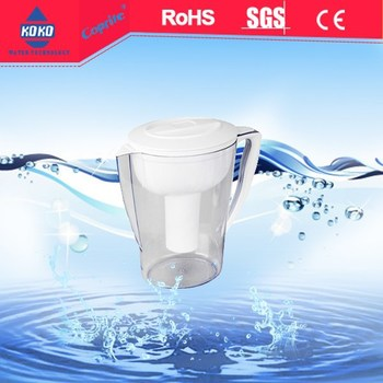 alkaline water filter pitcher pot 2.5L