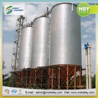 Wheat Flour Mill Used Grain Bins Sale