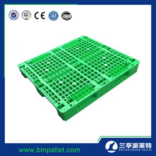 1200x1000 mm Single Side Plastic Pallets with reinforcement profile