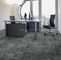 BF8000 100% pp commercial carpet tiles