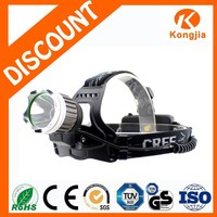 XML T6 Outdoor Emergency Ultra Bright Aluminium Rechargeable Bike Light LED Headlamp Best