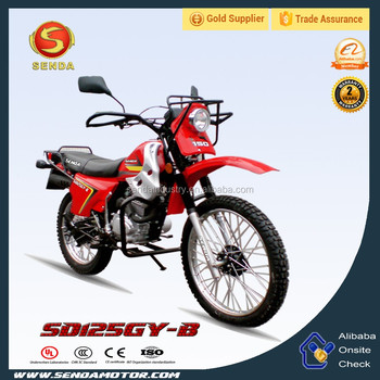 Wholesale Best-selling Dirt Bike New BROS Motorcycle 125CC Color Red HyperBiz SD125GY-B